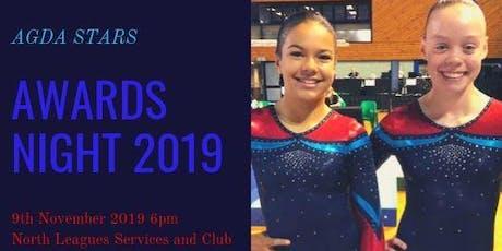 AGDA Stars Awards Dinner 2019 tickets