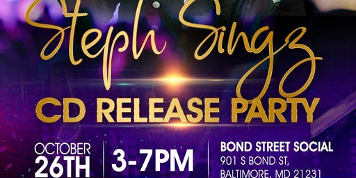Steph Singz Album Release Party