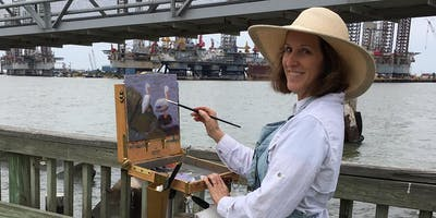 Brushes By the Beach Plein Air Contest