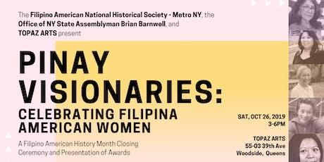 PINAY VISIONARIES: Celebrating Filipina American Women tickets
