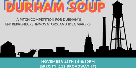 Durham SOUP: A Pitch Competition for Social Entrepreneurs tickets