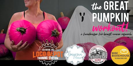 The Great Pumpkin Workout - a fundraiser for breast cancer research tickets