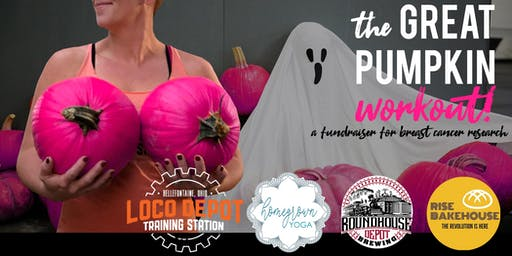 The Great Pumpkin Workout - a fundraiser for breast cancer research