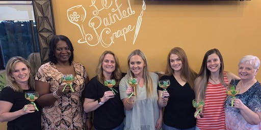 New Class! Join us for our Margarita Glass Painting Party Workshop at Papa Lopez, Frisco on 11/5 @ 7 pm