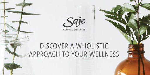 Pain and Recovery Workshop                         By Saje Natural Wellness