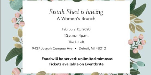 Sistah Shed: A Womens Brunch