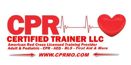 American Red Cross - Adult And Pediatric First Aid / CPR / AED tickets