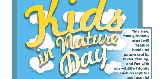 Kids in Nature Day sponsored by HoneyBee Real Estate
