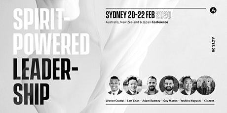 Sydney 2020 | Acts 29 Conference tickets