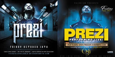 Prezi performing live at The Palladium Nightclub in Modesto
