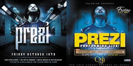 Prezi performing live at The Palladium Nightclub in Modesto tickets