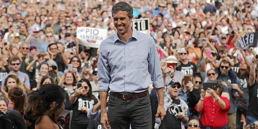 BEAUMONT FOR PRESIDENTIAL CANDIDATE BETO O'ROURKE ORGANIZING TOUR
