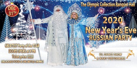 2020 New Year's Eve Russian Party tickets