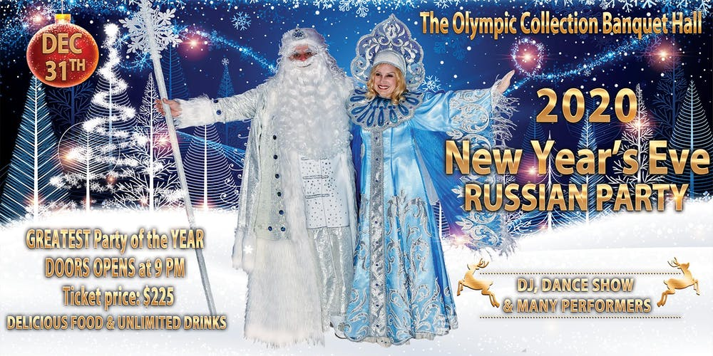 Charity Events In Los Angeles December 2020.2020 New Year S Eve Russian Party