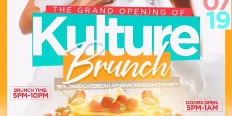 Bacardi Presents Kulture Brunch & Punch| The  Afterwork Brunch Experience  tickets