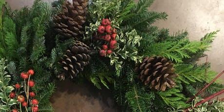 Wreath Decorating Workshop | Longfellow, Wednesday 12/11/2019 tickets
