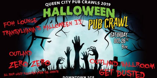 Copy of Get Dusted, Transylvania, Zero Zero - Halloween Pub Crawl