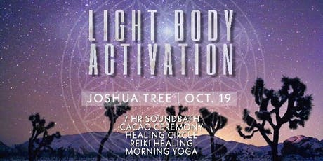 Quantum Light Body Activation tickets