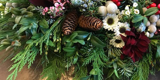Holiday Centerpiece Workshop | Northeast, Saturday 12/21/2019