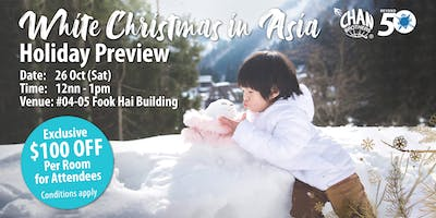 White Christmas in Asia Holiday Preview