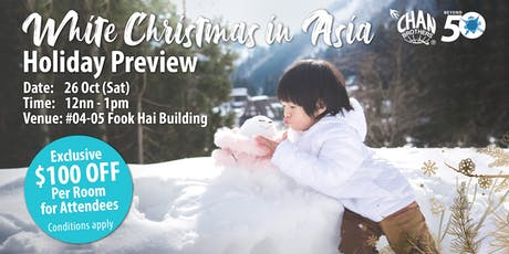 White Christmas in Asia Holiday Preview tickets