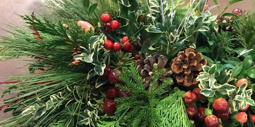 Holiday Centerpiece Workshop | Longfellow, Sunday 12/22/2019