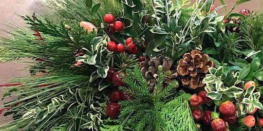 Holiday Centerpiece Workshop | Longfellow, Sunday 12/22/2019