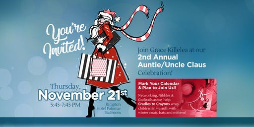 Grace Killelea's Auntie/Uncle Claus Holiday Celebration!