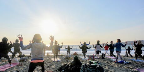 Saturday Groove: Beach Yoga with Peter Walters! tickets