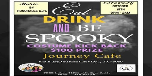 Eat, Drink & Be Spooky Costume Kickback! $100 Costume Contest
