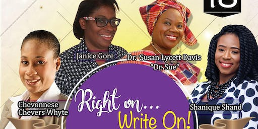 1)Right On…WRITE ON! FREE Publishers' and Writers' Seminar