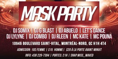 MASK PARTY tickets