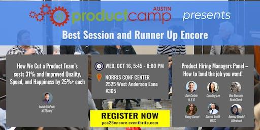 ProductCamp Austin 23 - Encore (PCA23 Encore)