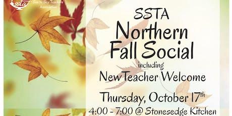 SSTA NORTHERN Fall Social & New Teacher Welcome tickets