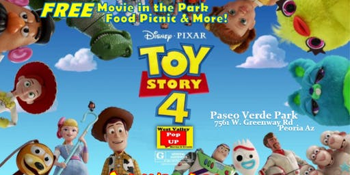 A Peoria Food Truck Movie Night & MORE! Sat 11/2 - Toy Story 4