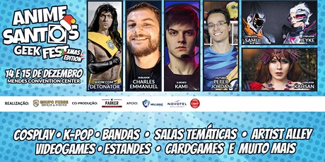 Anime Santos Geek Fest Xmas Edition ingressos