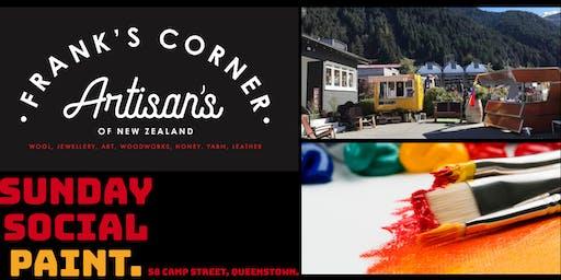 Sunday Social Paint : Frank's Corner