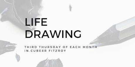 Life Drawing at in.cube8r Fitzroy (October) tickets