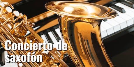 Concierto de saxofón entradas