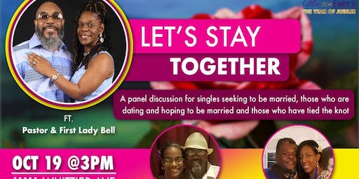 Lets Stay Together- Marriage Panel Discussion