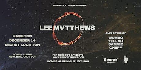 Lee Mvtthews Bones Album Tour - Hamilton tickets