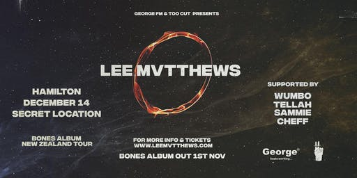 Lee Mvtthews Bones Album Tour - Hamilton