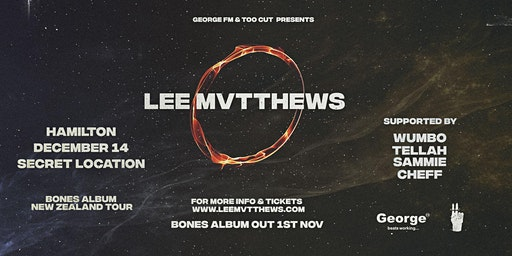 Lee Mvtthews Bones Album Tour - Hamilton