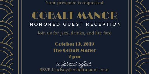 Honored Guest Reception
