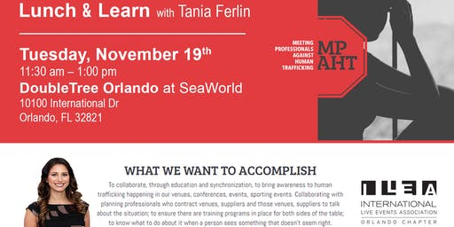 Lunch & Learn With Tania Ferlin