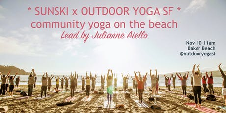 SUNDAY COMMUNITY BEACH YOGA! tickets