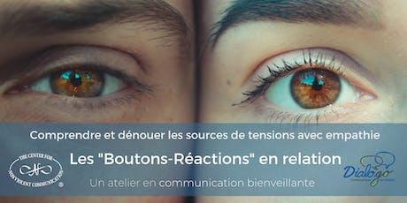 Les boutons-réactions en relation billets