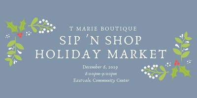Sip n Shop Holiday Market