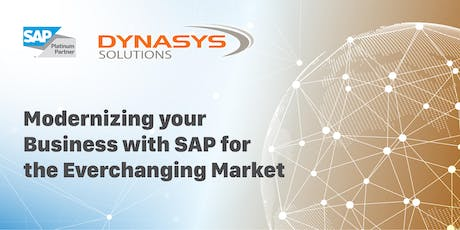 Free Seminar-Modernizing Your Business with SAP for the EverChanging Market tickets