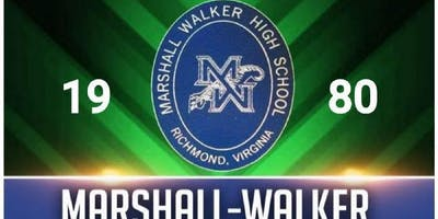 Copy of Marshall-Walker Class of 1980 Reunion